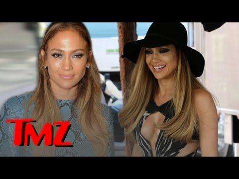 "Jennifer Lopez Goes To See ""Gone Girl"""