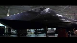 Firefox (1982) Clint Eastwood - First appearence at the hangar, menacing Music