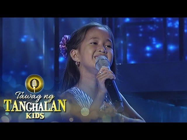 Tawag ng Tanghalan Kids: Jhienly Torredes | Hanggang