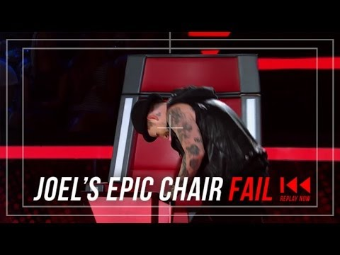 Joel Madden's Chair Fail | The Voice Australia 2014