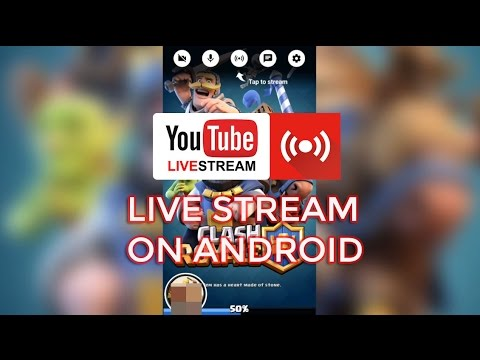 Live stream on Youtube using Android Phone | Android Gaming