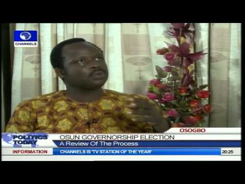 Osun Election Was Interesting And Well Conducted- Election Monitor Pt 1