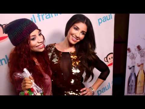 Melissa Molinaro and Erin EB Wright attend Paul Frank's Fashion Night Out