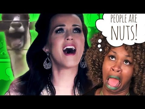 Glozell: People Are Nuts (3.) about animals. Cats dogs goats One Direction Katy Perry!