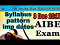AIBE11 ALL INDIA BAR EXAMINATION Dec 2017   AG Advise   
