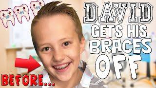David Gets His Braces Off!!!!