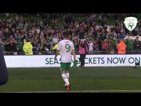 Shane Long post match interview - Ireland v Netherlands