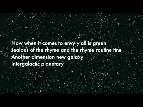 Intergalactic: Beastie Boys (Lyrics)
