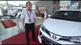 The All-New Toyota Vios is now at Toyota Plentong Showroom