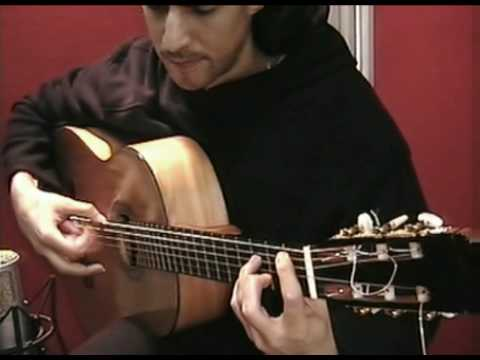 Flamenco Guitar (Tango) Falseta de Manolo Franco