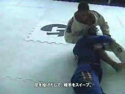 Andre Galvao Open Guard Sweep Image 1