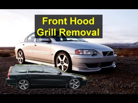 How to remove a Volvo P2 grill. S80. V70. S60. etc. - VOTD