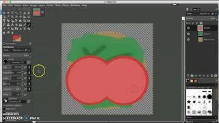 GIMP - Hamburger