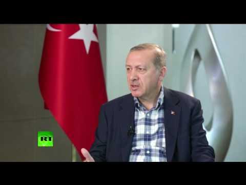 Эрдоган: Турецкий народ благодарен Путину за его реакцию на попытку переворота в Турции