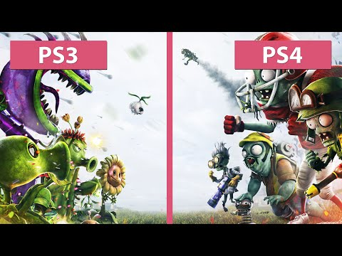 Plants vs. Zombies Garden Warfare – PS3 vs. PS4 Graphics Comparison [FullHD]