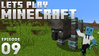 iJevin Plays Minecraft - Ep. 9: FIRST RAID! (1.14 Minecraft Let's Play)