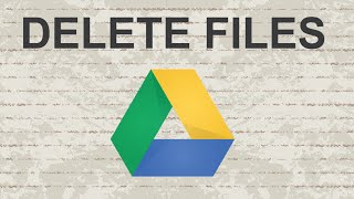download lagu How To Delete Files From Google Drive gratis