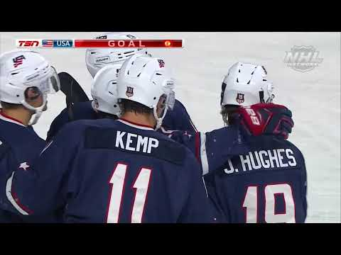 2018 WJSS   U.S. Tops Sweden in OT, 5-4