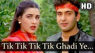 Tik Tik Tik Tik Ghadi Ye - Shukriya Songs - Rajeev Kapoor - Amrita Singh - Shabbir Kumar- Filmigaane
