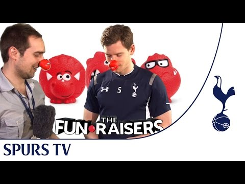 Tottenham Hotspur's Jan Vertonghen plays charades for Red Nose Day! |