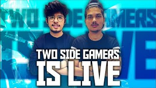 FREE FIRE INDIA || RUSH RANK PUSH WITH TSG冬ARMY || TWO SIDE GAMERS IS LIVE