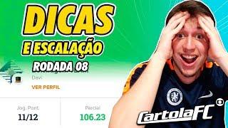 DICAS DO CARTOLA FC 2019 - 8ª RODADA   106 PONTOS !!!