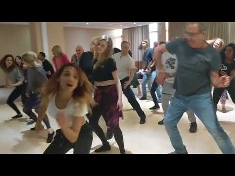 ZF2018 with Aline & Paulo workshop warmup ~ video by Zouk Soul