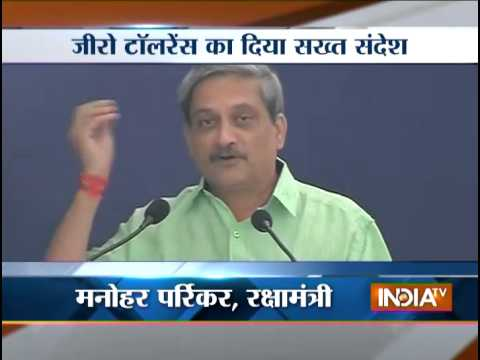 'zero tolerance to error' in defence-related issues: Manohar Parrikar