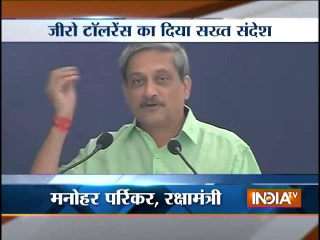 'zero tolerance to error' in defence-related issues: Manohar Parrikar