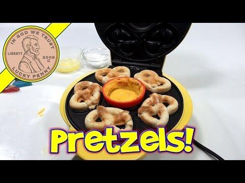 SuperPretzel Soft Pretzels Maker Set - Make Hot Pretzels
