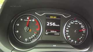Audi A3 Sportback 1,8 TFSI 2013 - acceleration 0-220 km/h, top speed test