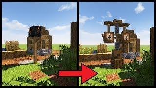 Minecraft Tutorial ► How to Transform a Minecraft Village: Lighting!