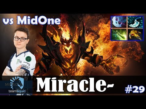 Miracle - Shadow Fiend MID | vs MidOne (Luna) | 7.07 Update Patch Dota 2 Pro MMR  Gameplay #29