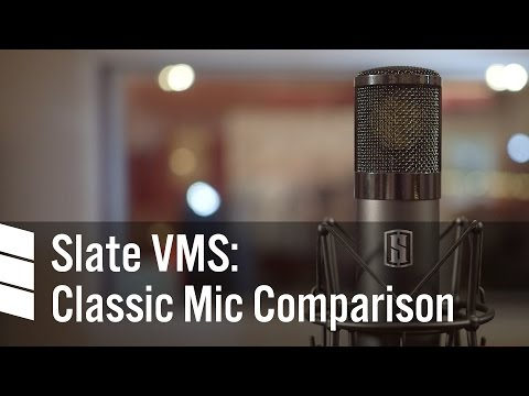 Slate Digital VMS: Classic Mic Comparison