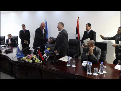 Libya: UN and Government sign status of mission agreement