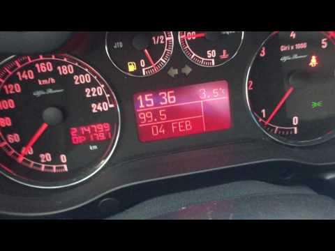 Alfa Romeo 147 1.9jtd 88kw 120hp acceleration 0-150 0-180