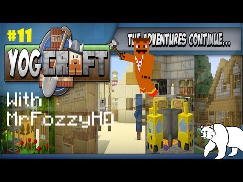 Yogcraft/FTB - Let's Play - #11 - The Magic Place! Becoming an Apprentice!