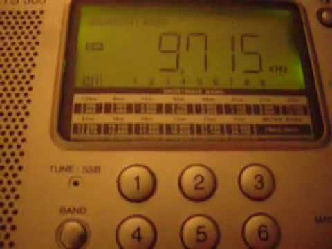 Just a little bit freaky. 9715kHz alarm noise goes bonkers.