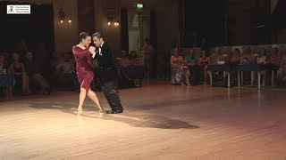 2017 Yanina and Neri dance milonga to Que Tiempo Aquel at Cheltenham International Tango Festival