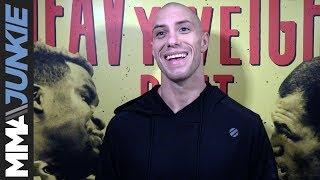 Video: James Vick full UFC on ESPN 1 open workout media scrum