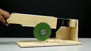 How to Make Powerful Table Saw at Home