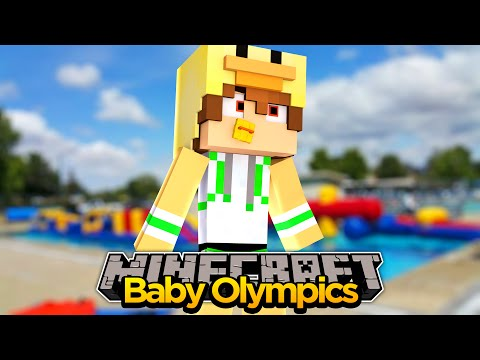 MINECRAFT - JOINING THE BABY OLYMPICS!!