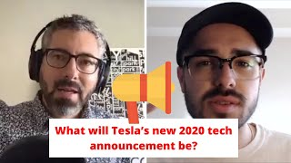 What will Tesla's new 2020 tech announcement be?