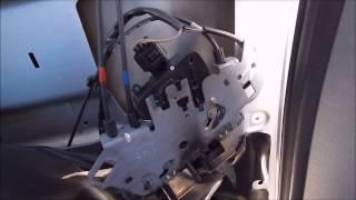 2007 Chrysler Town & Country Rear Sliding Door Lock Actuator Repair
