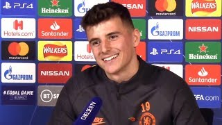 Mason Mount FULL Pre-Match Press Conference - Chelsea v Ajax - Champions League