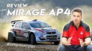 REVIEW MITSUBISHI MIRAGE AP4 RALLY CAR