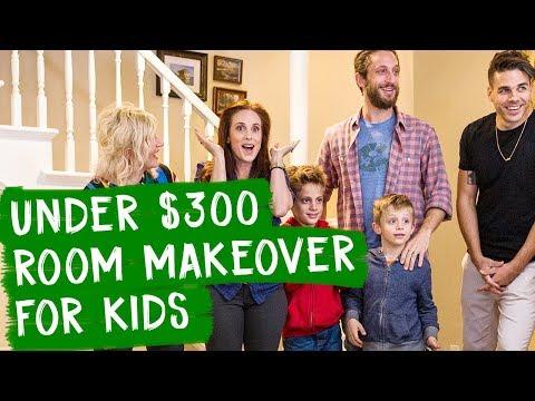 Under $300 Room Makeover for Kids!! | Mr. Kate Decorates