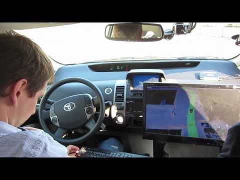 Google Robocar Racetrack Ride