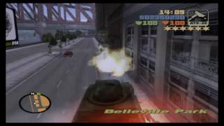 Grand Theft Auto 3 (PS4) Tank Rampage