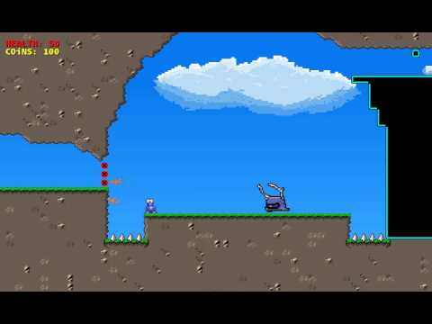 2D Platformer Gameplay Alpha 1 (C#, XNA)